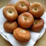 Ribboned carnival doughnuts