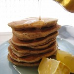 Vegan Lemon-Poppy Seed Pancake