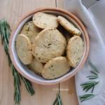 Lemon Rosemary Butter Cracker