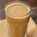 Superfood Breakfast: Pumpkin Almond Milk Smoothie With Cinnamon