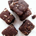 Vegan Coconut &amp; Brazil Nut Brownie