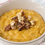 Superfood Breakfast: Vegan Spicy Pumpkin Oatmeal