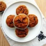 Butternut Squash-Chocolate Muffin
