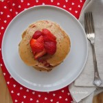 Vegan Strawberry Buckwheat Pancake