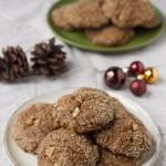 Vegan Spicy Ginger Cookies